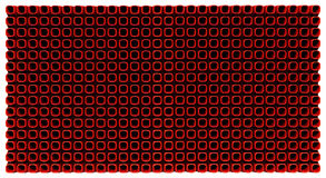 Abstract pattern 3d-generated background. Abstract red pattern 3d-generated background Royalty Free Stock Photography