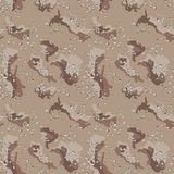 Desert Camo Pattern. Concept design a illustration vector of New abstract Desert camo army seamless brown stock illustration