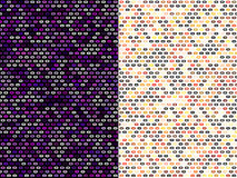 Abstract pattern designs. Set of beautiful abstract pattern designs Stock Image