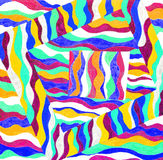 Abstract pattern drawing. Stock Photography