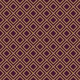 Regular seamless pattern. Brown and gold. Abstract pattern in easy style. Seamless background Stock Images