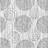 Abstract pattern with ethnic ornaments Royalty Free Stock Photography