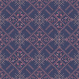 Abstract pattern in ethnic style. Vector seamless texture Royalty Free Stock Photos