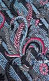 Abstract pattern fabric Stock Photos