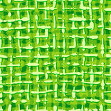 Abstract pattern fabric texture. Seamless background of green stripes. Royalty Free Stock Images