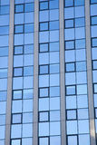 Abstract pattern on facade of office building Stock Images