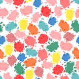 Abstract pattern. Firework spot background. Abstract drop pattern. Rainbow blot confetti blow pattern Royalty Free Stock Photo