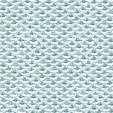 Abstract pattern with a fish scales pattern. Seamless  pattern on a white background Royalty Free Stock Photos