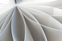 Abstract pattern of a folded blank pages. 3d illustration Royalty Free Stock Photos