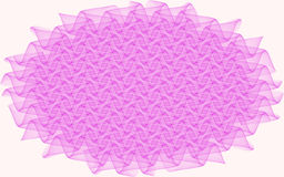 Abstract pattern in the form of pink curls Stock Photos