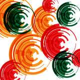 Abstract pattern for futuristic background or music playlist. It Stock Images