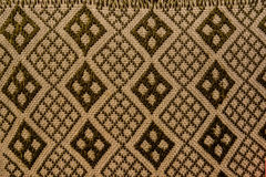 Abstract pattern with geometric background. Abstract brown textile pattern with geometric background Stock Image