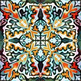 Abstract color pattern in graffiti style Quality vector illustration for your design Stock Images