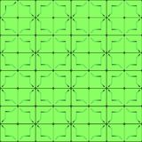 Pattern on a green background Royalty Free Stock Photo