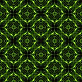 Regular abstract seamless pattern. Abstract pattern in  green metal style. Seamless background Stock Image