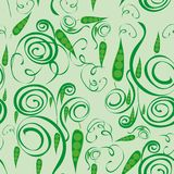 Abstract pattern with green peas Royalty Free Stock Image