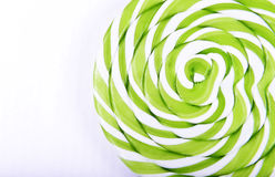 Abstract pattern green and white candy Royalty Free Stock Images