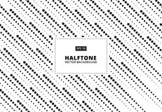 Abstract pattern halftone dots rain. Vector Illustration. Dotted Stock Photography