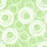 Abstract  pattern of hand-drawn circles on background with polka Royalty Free Stock Images