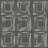 Abstract pattern with hand drawn squares Royalty Free Stock Photo