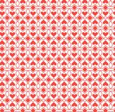 Abstract pattern heart Royalty Free Stock Photography