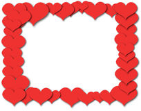 Abstract pattern heart  Vector image. On a white background 2 Royalty Free Stock Photos