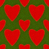 Abstract pattern with hearts Stock Images