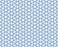 Abstract pattern hexagonal star with balls. Background or textile abstract pattern hexagonal star with balls Stock Images
