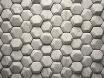 Abstract pattern of hexahedron Stock Photos