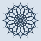 Abstract pattern illustration in arabian style. Vector illustration Stock Photos