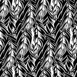 Abstract pattern inspired by tropical birds Royalty Free Stock Images