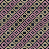 Abstract pattern. Japanese Kogin embroidery. Stock Photography