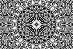 Abstract pattern - kaleidoscopic pattern Royalty Free Stock Photography