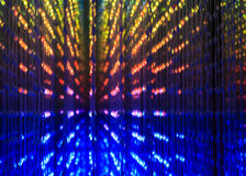 Abstract pattern with LED lights Stock Image