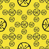 Abstract pattern lemon stock photo