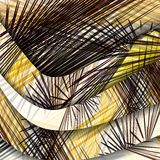 Abstract pattern of lines. Royalty Free Stock Images