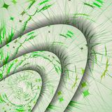 Abstract pattern of lines. Royalty Free Stock Photography