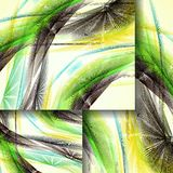 Abstract pattern of lines Royalty Free Stock Photos