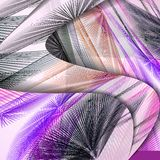 Abstract pattern of lines Royalty Free Stock Photo