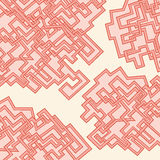 Abstract pattern of lines. Vector Stock Photo