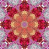 Abstract pattern mandala background royalty free illustration