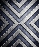 Abstract pattern on metal background Royalty Free Stock Photo