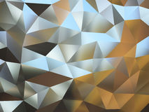 Abstract pattern of metal pieces Stock Photography