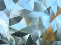 Abstract pattern of metal pieces Royalty Free Stock Photo