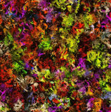 Abstract Pattern from Multicolored oil color Backgrounds Stock Photo