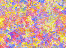 Abstract Pattern from Multicolored Plaster Backgrounds Royalty Free Stock Photo