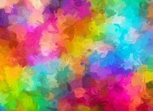 Abstract Pattern from Multicolored watercolor Backgrounds Stock Images