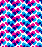 Abstract heart pattern Stock Image