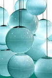 Abstract Pattern Of Blue Circles Stock Photography