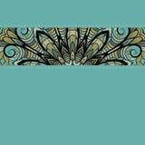 Ornamental stripe with stitch Royalty Free Stock Photo